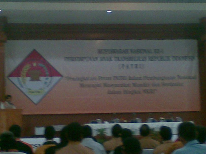 Munas I  PATRI  di Padepokan Pencak Silat, TMII  28-30 Januari 2009